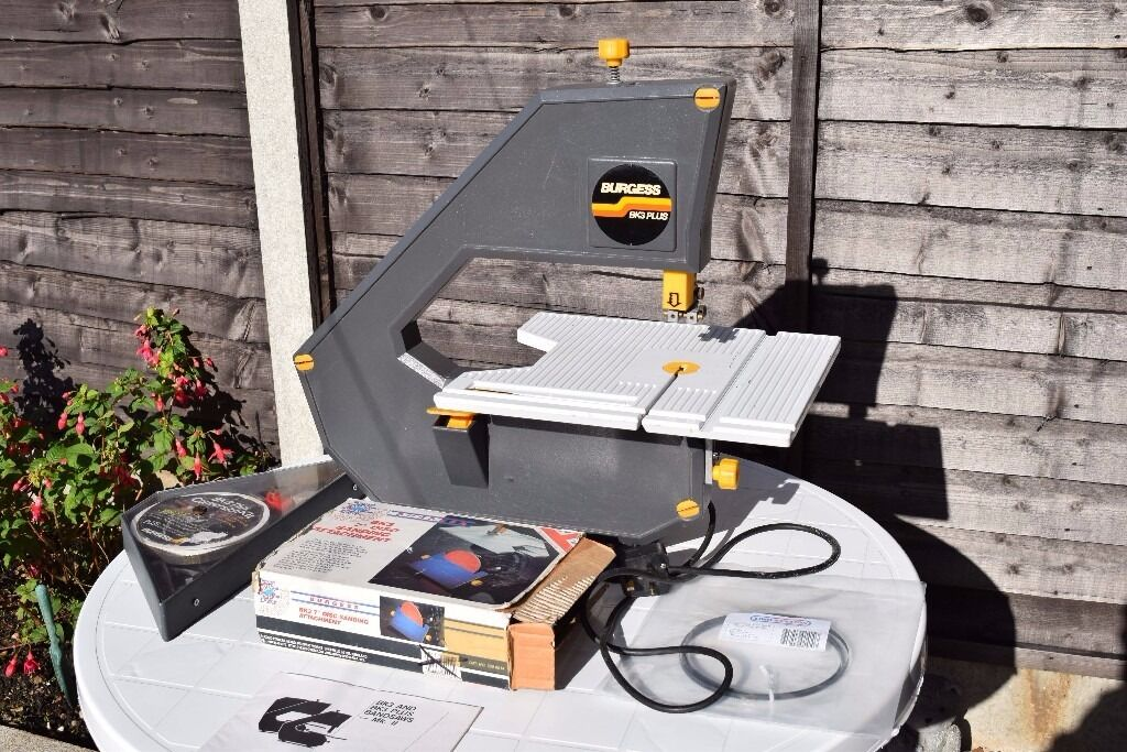 Burgess Bk3 Plus Bandsaw With Conversion Kit And Sanding