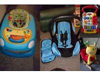 Baby walkers , car seat , rocking snail