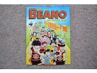20 BEANO CALENDARS - 1987 - 2007 MOST IN MINT CONDITION - SEE LIST FOR DETAIL