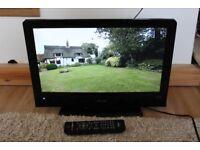 L@@K Hitachi 19 INCH HD Ready Digital LCD TV, FREEVIEW, HDMI, USB