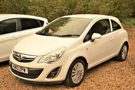 Vauxhall Corsa 1.2 i Energy 3dr£4,750 p/x welcome LOW MILEAGE+HPI CLEAR 2013 (13 reg), Hatchback