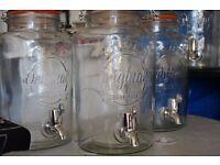 6 Kilner drinks dispenser, 5 litres