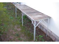 greenhouse bench