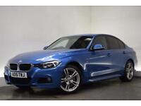 BMW 3 SERIES 3.0 335I M SPORT 4d 302 BHP (blue) 2015