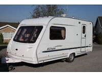 Sterling Europa 460 2005 2 berth caravan