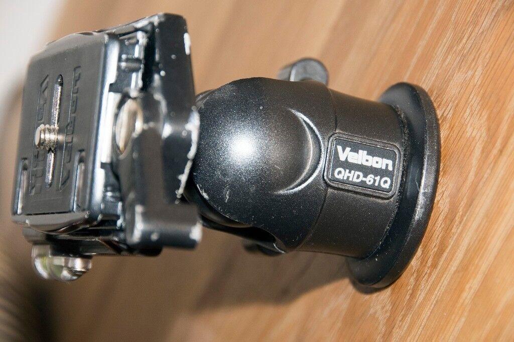 VELBON QHD-61Q BALLHEAD AND QR PLATE