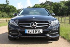 MERCEDES BENZ C CLASS C220 DIESEL AUTO LOW MILEAGE FULL SPEC FSH 1 OWNER RECENTLY SERVICED NEW TYRES