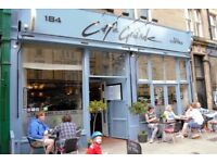 Ambitious CDP needed for busy Bruntsfield restaurant