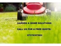 Soft and Hard Landscaping-Gardening/Free quotes/Maintenance/Clearance/Jet-wash/Fencing&Paving