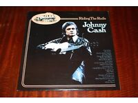 Johnny Cash Riding The Rails Vinyl LP Record