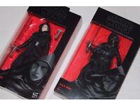 "2 x Star Wars Black Series KYLO REN 6"" figures (MASKED + UNMASKED) (03/26) The Force Awakens - NEW"