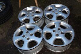 Set of 4 Peugeot wheels