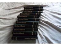 JOB LOT ELEVEN VOLUMES OF ON FOUR WHEELS