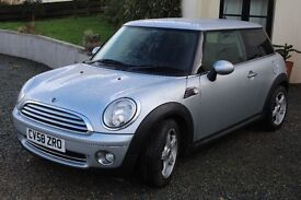 2009 Mini Cooper Hatch 1.6 Petrol.