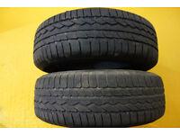 2x tyre 225 65 17 M+S tyres