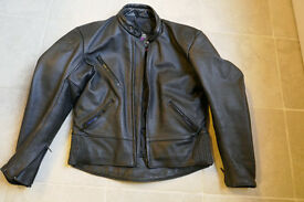 Scott Leather Biker Jacket