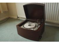 Pye Black Box record player
