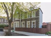 large 1 bed garden flat on tree lined road near city centre, amenities & M4 part furnished £ 650