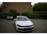 Volkswagen Scirocco White 1.4 TSI 3dr 2010 64,550 Miles **PRICED LOW**