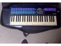 Yamaha PSR-73 Electronic Keyboard with case