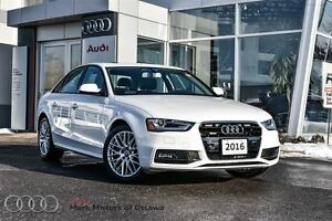 2016 Audi A4 2.0T Komfort plus *Month end special*