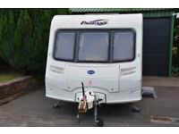 Bailey Pageant Bordeaux 2005 Caravan 4 Berth Fixed Rear Bed New Awning Spotless Inside & Out