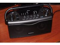 Roberts Radio ECO4BT Ecologic 4 DAB/FM/Bluetooth RDS Digital Stereo Radio - Black - excellent cond.