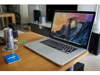 "Macbook Pro Retina 2014 15"" - i7 - 16GB - 512 GB . Final cut , Logic Pro , Adobe & Much more"