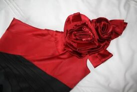 Karen Millan evening dress. Black & Red. Size 12