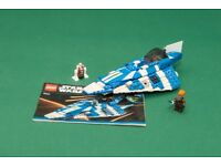 Lego Star Wars Plo Koons Jedi Starfighter - ref 8093