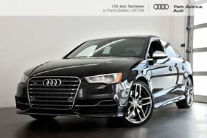 2015 Audi S3 2.0 TFSI PROGRESSIV ENS. COMMODITÉ+LED+TOIT !