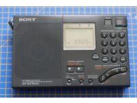 Sony SW7600G Shortwave Receiver LW / MW / SW / FM / SSB / LSB / USB