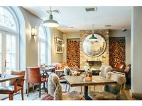 Part Time Night Porter/Cleaner for a hotel and restaurant in Pimlico