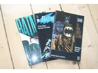 Collection of 3 BATMAN first edition novels