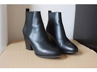 Chelsea leather boots, The Kooples
