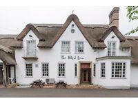 Junior Sous Chef for Busy Granchester Pub