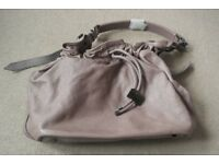 ( New and Unused ) Genuine Burberry Drawstring Bucket Bag with adjustable strap £175