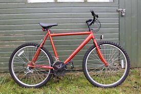 "Silverfox SFX 915 GSX 21"" Mountain Bike with 15 speed Shimano gears. Serviced Ready to Go. £135"