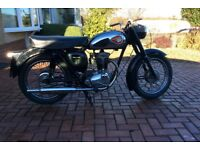 Bsa C15G last and best of the C15s good useable classic, 12v conversion, many new parts