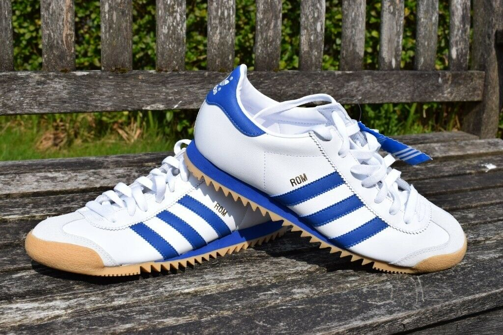 cheap price vast selection store Adidas Rom Mens Retro Trainers - Unworn Mint Condition - Size 8 (IMHO  nearer a 7-7.5) | in Kelvindale, Glasgow | Gumtree