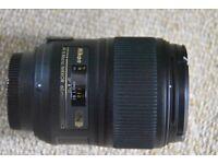 NIKON AF-S Micro NIKKOR 60mm f/2.8G ED lens