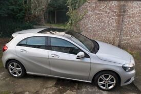 Mercedes A180 CDI BlueEFFICIENCY Sport - Polar silver diesel Auto 7G - low mileage - panoramic roof