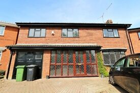 Large, modern 5 bed house, close to Hospital, with easy access to A1, Parkway and City.