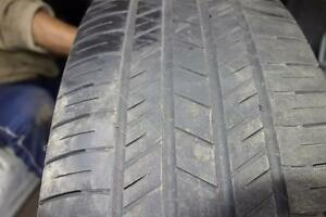 215 65 17 Used tires, Goodyear.