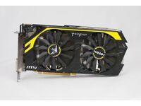 MSI Twin Frozr R9 270X HAWK; GDDR5 2GB GPU