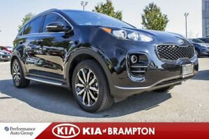 2017 Kia Sportage EX. TECH. ROOF. LEATHER. CAM. NAVI. HARMAN/KAR