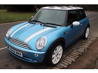 Electric Blue MINI Hatch 1.6 Cooper 3dr