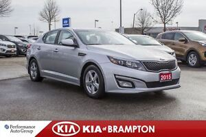 2015 Kia Optima LX|BUCKETS|PWR SEAT|KEYLESS|ALLOYS|MP3
