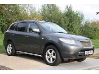 2006 Hyundai Santa Fe 2.2 CRTD GSI 4X4* 5dr AUTOMATIC 3 MONTHS WARRANTY +LONG MOT, PX WELCOME