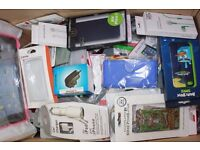 MIXED ITEMS SELLABLE WHOLESALE STARTER JOB LOT MOBILE PHONE ACCESSORIES OPEN TO OFFERS